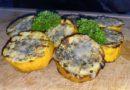 Leckere Knoblauch-Zwiebel Zuccini mit Parmesan – Einfaches Grillen
